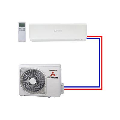 Single split airco systemen van Mitsubishi Heavy Industries - Airco voor bedrijven
